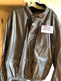 brown leather zip-up jacket Torrance, 90504