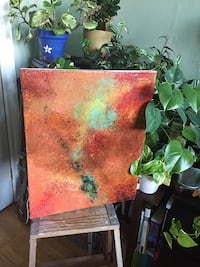 Birth of the Fey - Original Abstract Painting  Toronto, M3A 2R6