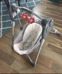 baby's white and gray swing chair Rio Rancho, 87144