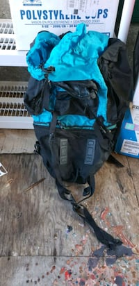Huge hiking backpack