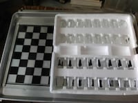black and white chess board set Alexandria, 22304