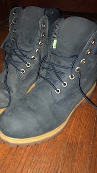 Timberland boots.  St. Louis, 63116