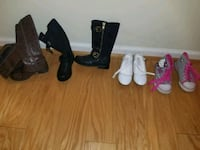 Kids shoes size 11K $40 for everything  25 mi