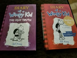 Hard Cover Wimpy kid Books