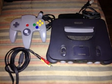 Nintendo 64 System with 3 games