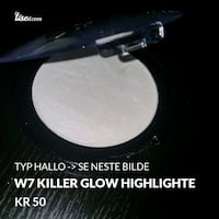 W7 highlighter Oslo kommune, 0983