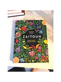 Zaitoun cookbook by Reed Kassis