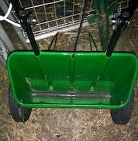 green and black seed spreader Grand Valley, L0N 1G0
