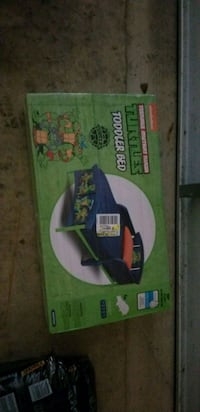 2 Brand New Teenage Mutant Turtles Toddler Beds null