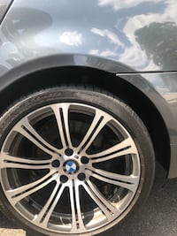 Bmw wheel style 166 with tires and sensors