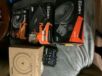 Speaker stuff I'm selling   I have receipt  for everything and wiring Maple Ridge, V2X 5W1
