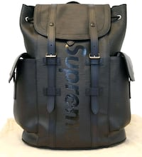 Supreme x Louis vuitton Christopher backpack  Coquitlam, V3B 6Y2