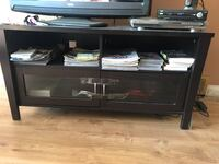 Black wooden tv stand  Toronto, M1R 4S9