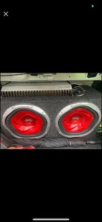 """Subwoofer Sony 12 """"and Amp Hifonics 2400 Silver Spring, 20866"""