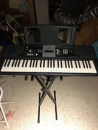 black and white electronic keyboard Wantagh, 11793