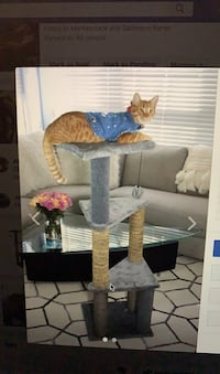 Cat tree cat tower cat scratcher cat treehouse cat climber  Baltimore, 21224