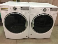 Whirlpool front load washer and electric dryer  AURORA