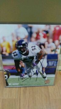 Ray Lewis signed 8x10 Knoxville, 37918