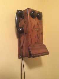 Antique telephone.Just reduced!