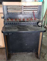 Telephone PBX Switchboard Circa 1929 Collector's I MONTREAL