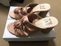 pair of brown leather open-toe sandals Edmonton, T5Y