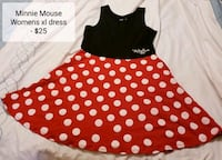 Minnie Mouse Dress (size XL) - $25   Toronto, M9B 6C4