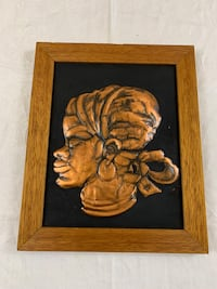 """Vintage """"Copper 3D"""" Picture from Zimbabwe, South Africa Edmonton, T6C 4C8"""