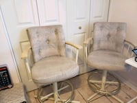 two gray metal framed padded armchairs Phoenix, 85029