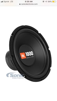 Black jbl 1000 watts subwoofer Ranger, 30734