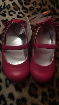 pair of pink leather mary jane shoes Alamo, 78516