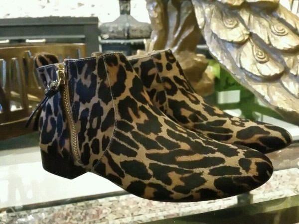 Brand New NINE WEST Ladies Leopard Bootie