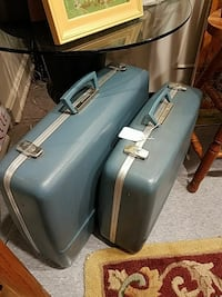Two Old Hardshell Suitcases Culpeper, 22701