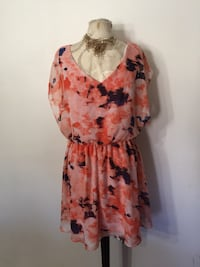 Coral dress size large  Ontario, 91762