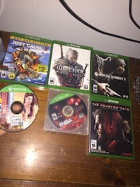 6 games, perfect condition
