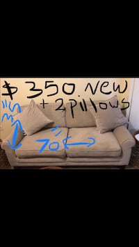New microfiber sofa 2 pillows click on my profile picture on this page for more listings pick up in Gaithersburg md 20877 all sales final Gaithersburg, 20877
