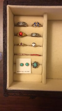 Rings $10 each Clarksville, 21029