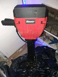red and black Bauer jackhammer power tool Oroville, 95965