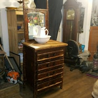 Handcrafted old chest of drawers  Trion, 30753