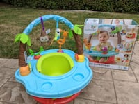 Summer Deluxe Superseat, like Bumbo with added tray and toys