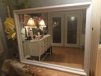 "40"" X 32"" White Shabby Chic Mirror. Amarillo, 79109"
