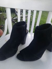 Black Suede Ankle Boots Kelowna
