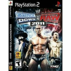 Sony PlayStation 2 Smack Down VS Raw World Wrestling 2011 game case