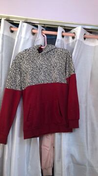 women's brown and white long-sleeved shirt New York, 11212
