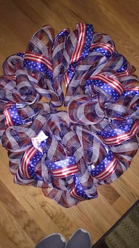 Patriotic Wreath Frederick, 21703