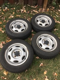 4 all season tires with mags from 1998 Corolla Dollard-des-Ormeaux, H9G 2S4