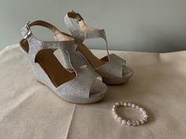 Prom Wedding Shoes, size 7