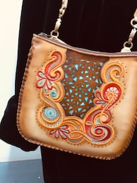 HAND tooled purse Fort Worth, 76107
