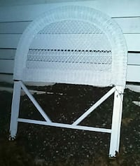 white wooden framed padded chair 292 mi