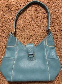 Fossil Blue Leather Handbag  Des Moines, 50313