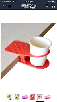 4 clip on cup holders